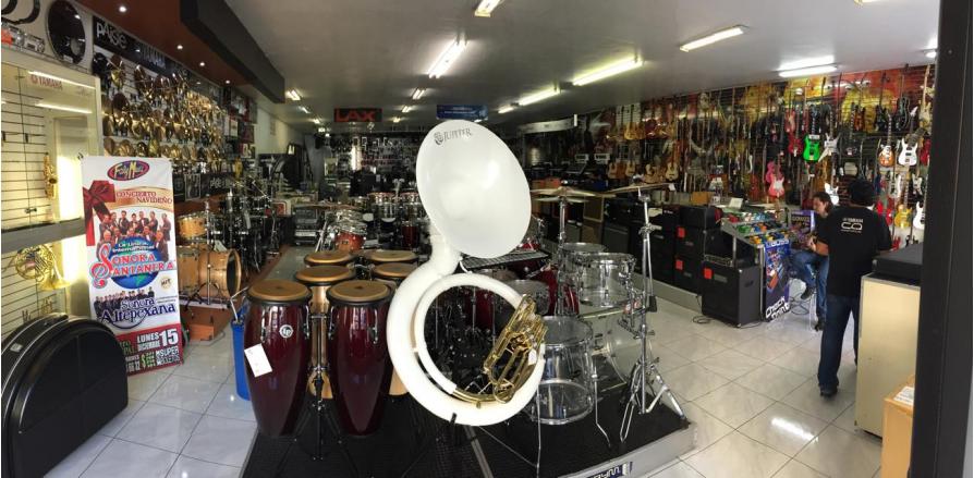 tienda de instrumento musical