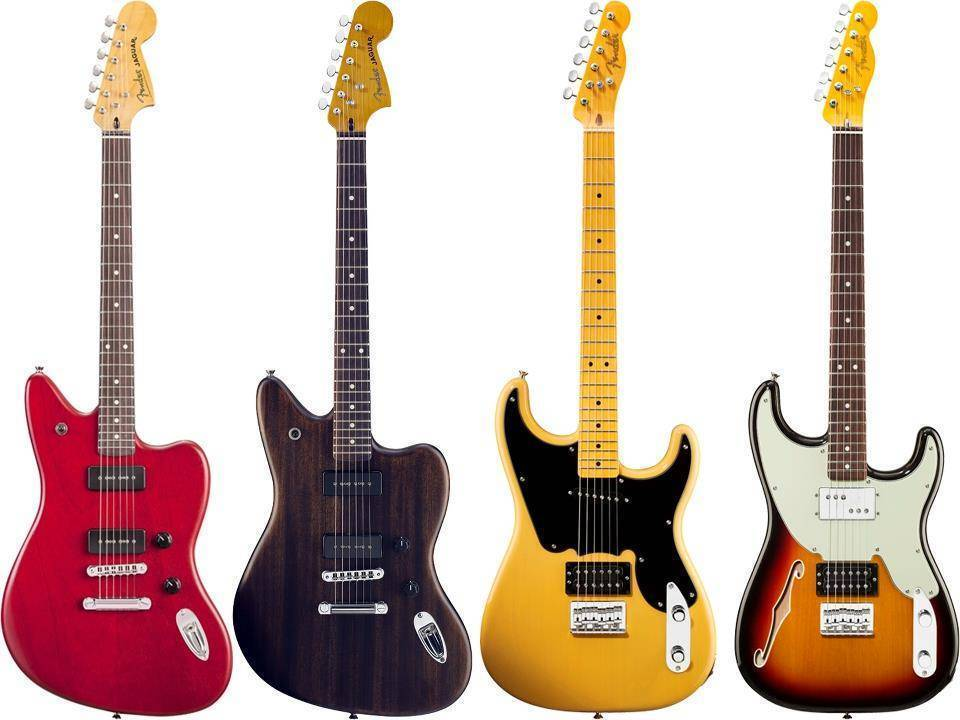 guitarras fender