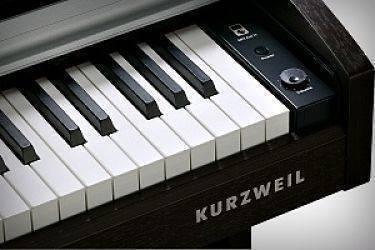 PIANO KURZWEIL M210 ROSSEWOOD TECLAS
