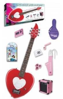 Paquete De Guitarra Eléctrica Daisy Rock 14-7013 Forma De Corazón C/Amplificador.