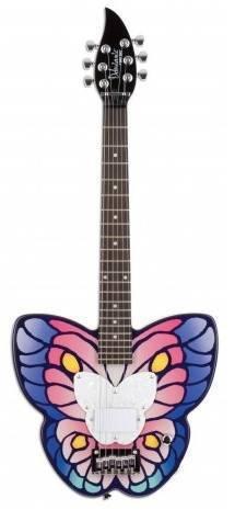 Guitarra Electrica Daysi Rock 14-7030 Forma De Mariposa.