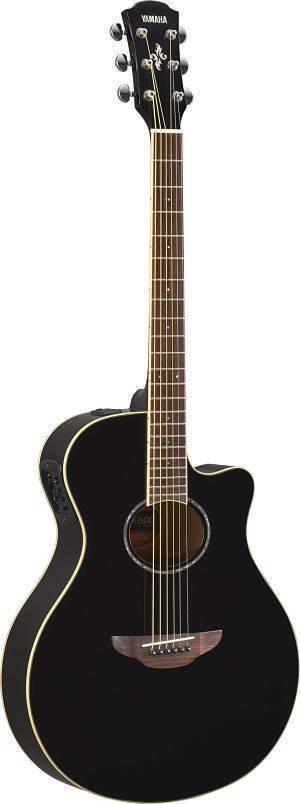 Guitarra Electro Acustica Yamaha APX600 Negra