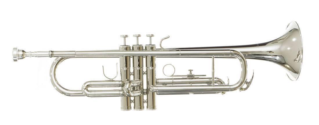 Trompeta Sib Niquelada Doble Llave 3N Silvertone