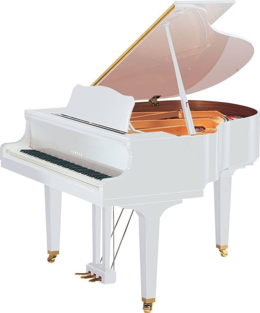 Piano Disklavier Yamaha Enspire DGB1KENST Blanco