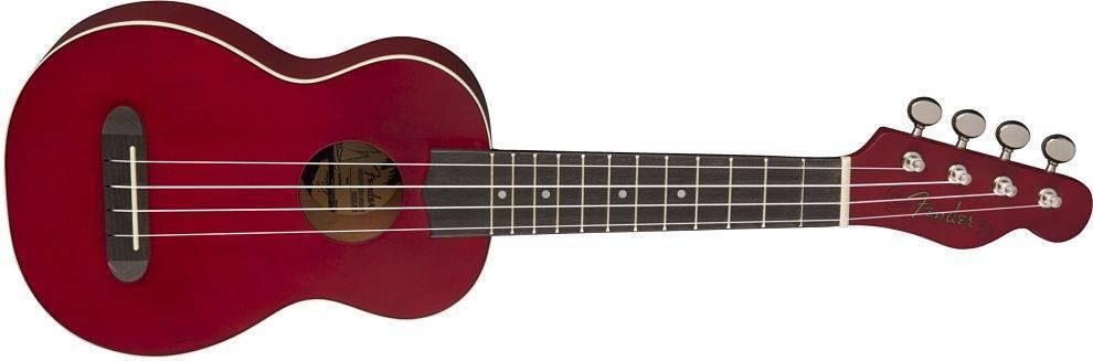 Ukulele Fender Veince Soprano Ukulele Cereza 0971610590