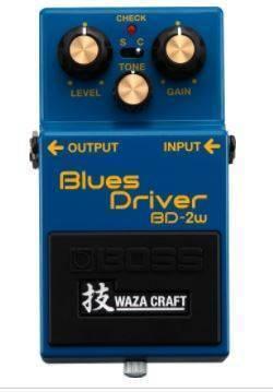 Pedal Efectos Blues River Waza Bd-2w