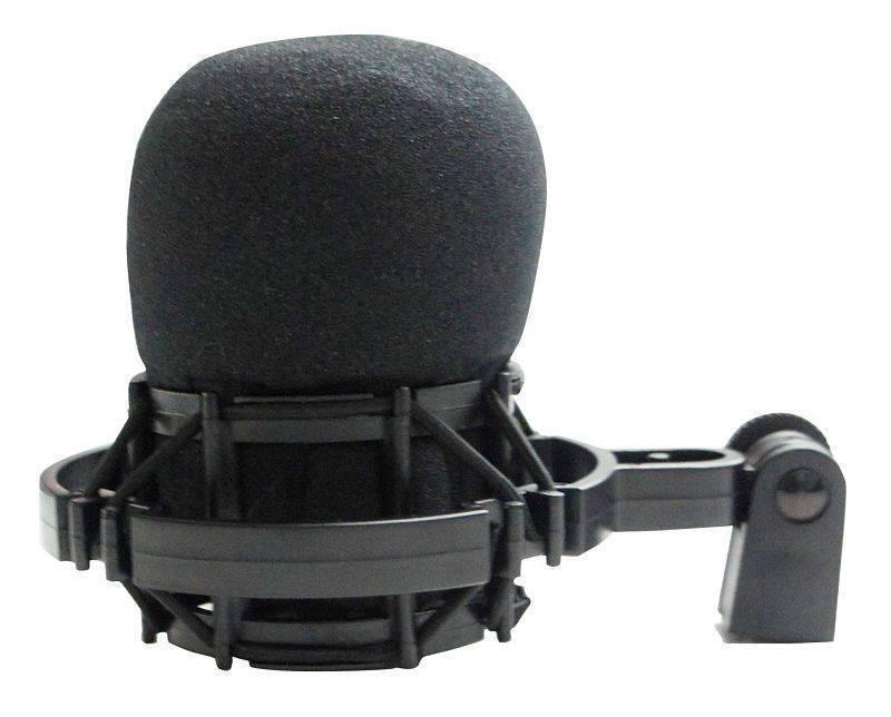 Microfono De Estudio Color Negro 3 Patrones CM-H8CH