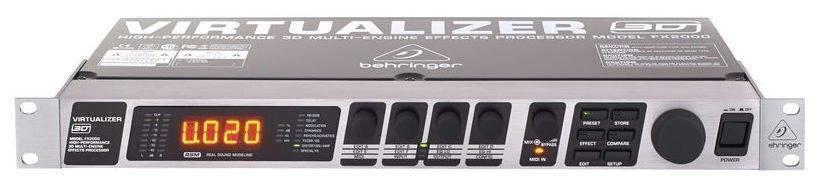 Procesador De Efectos 3 D Beheringer