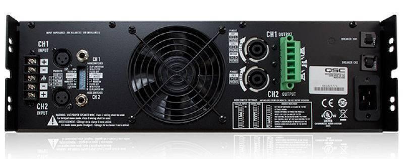 Amplificador Comercial QSC CMX2000Va