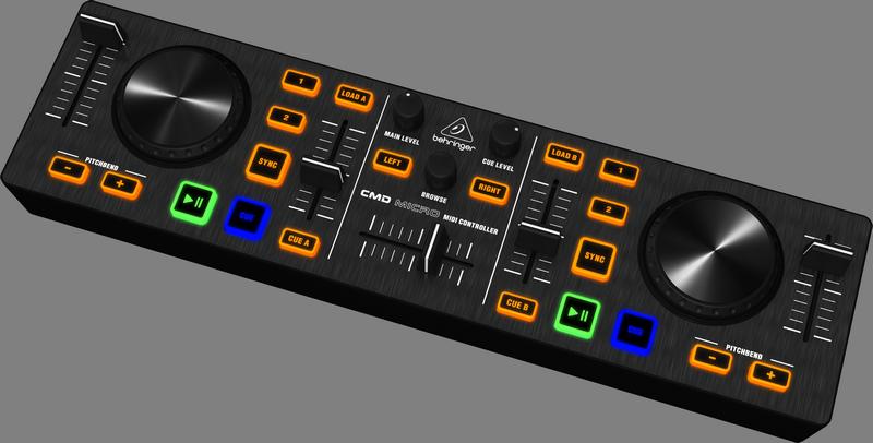 Controlador Behringer para DJ Cmd Micro