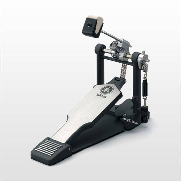 Pedal Para Bombo Yamaha Cadena Doble (Incluye Soft Case)