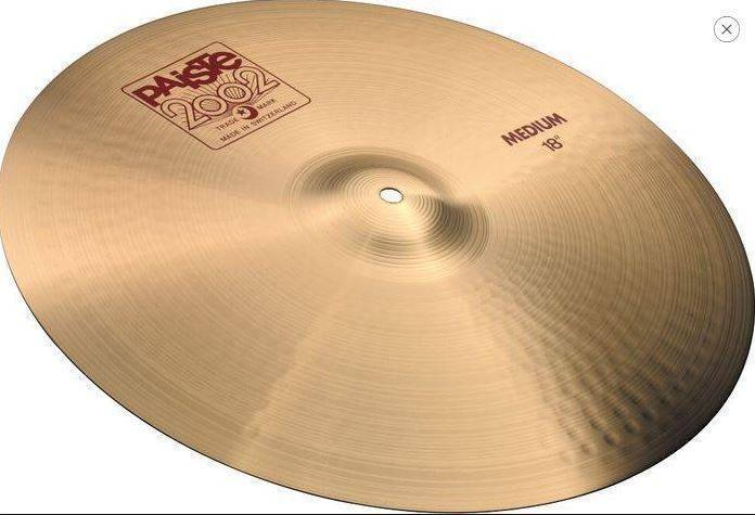 Platillo Paiste 2002 Medium 18
