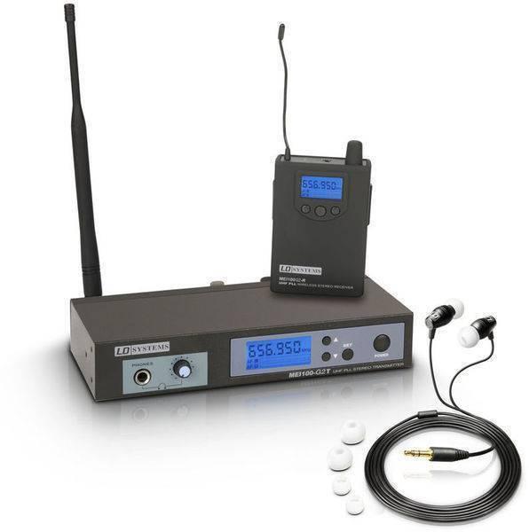 Sistema De Monitoreo Personal Inalámbrico MEI100G2 B6