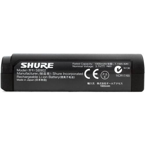 Bateria recargable de Iones de Litio para los transmisores de las series GLXD y MXW.