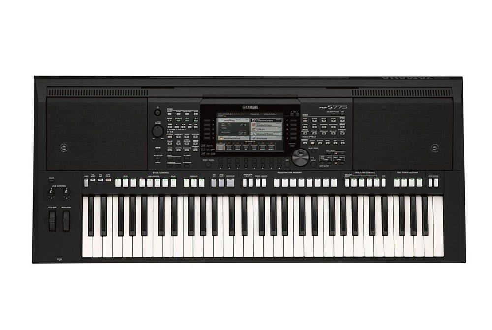 teclado profesional yamaha psr s775. Black Bedroom Furniture Sets. Home Design Ideas