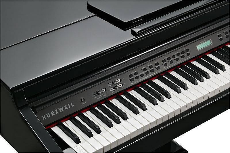 Piano de Cola Kurzweil KAG100 acabado negro brillante