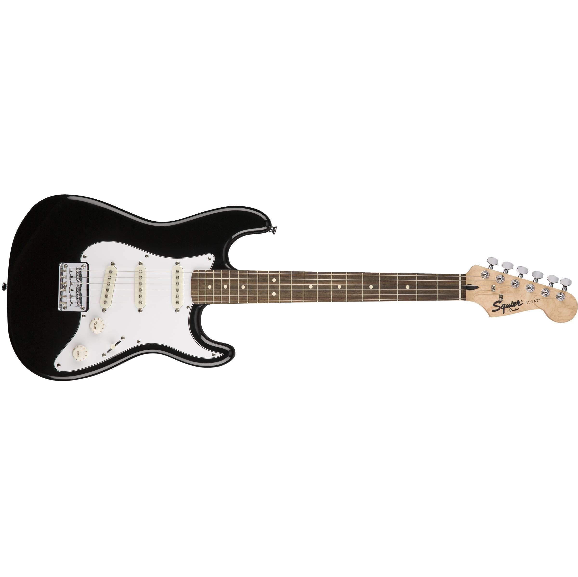 Paquete Guitarra Electrica Fender stratocaster negro