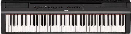 Piano Digital Intermedio  P121B  YAMAHA Color Negro Con Adaptador Pa-150