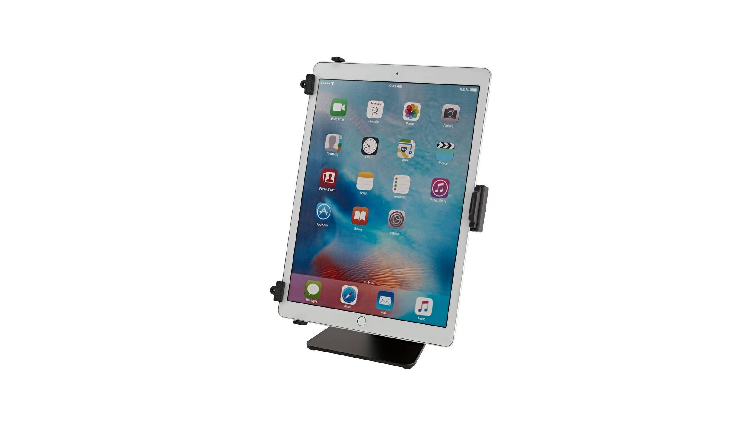 Soporte de mesa K & M Tablet PC (negro)