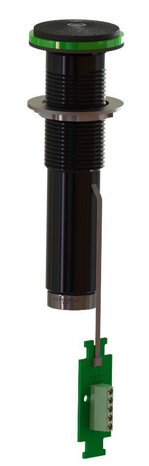Microfono omni-direccional 30khz con lumiComm led black Earthworks