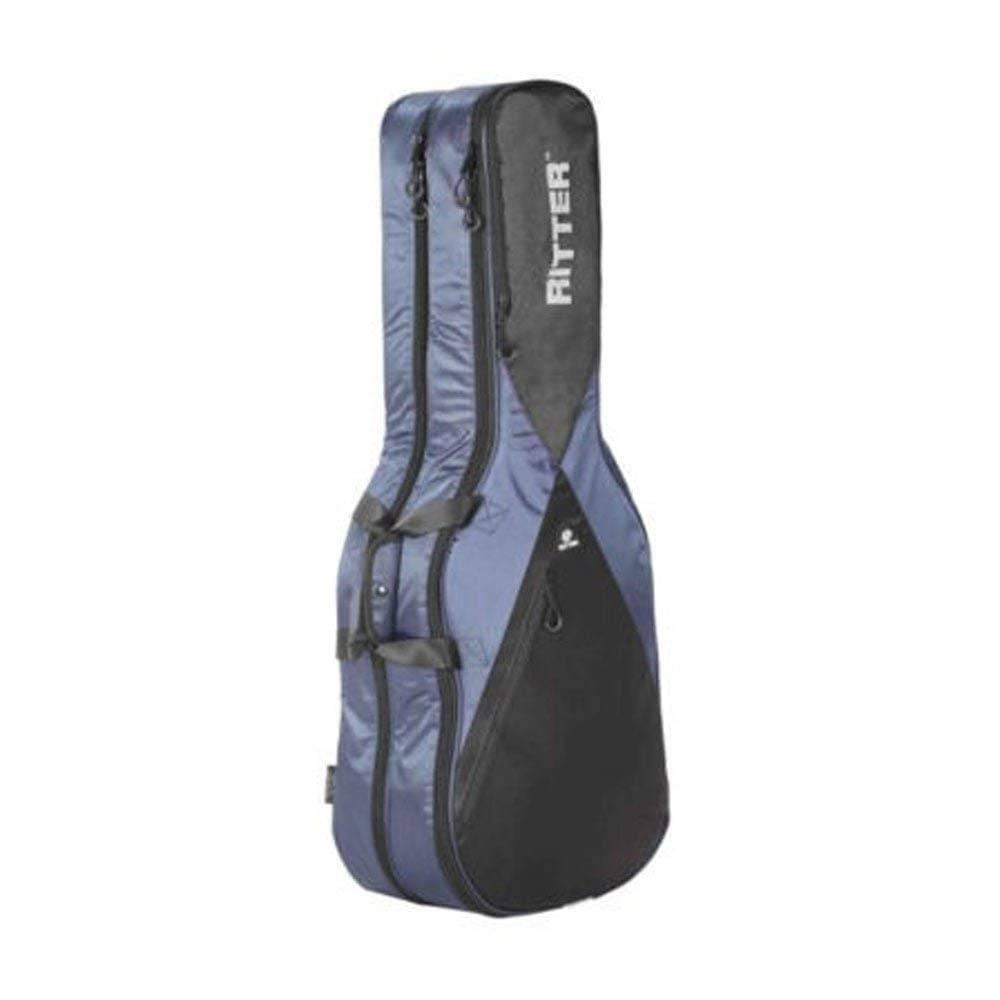 Funda Ritter Guitarra Acustica Texana Rgp5-D/Nbk Azul Marino-Negro