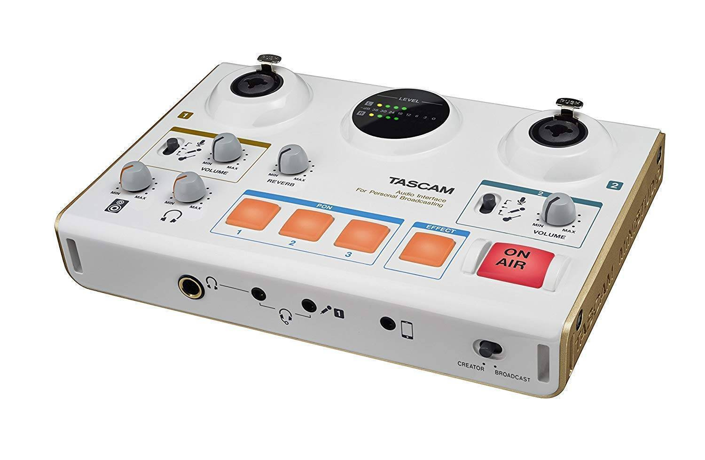 Tascam US-42 MiniStudio Creator USB Podcasting Broadcast Interface