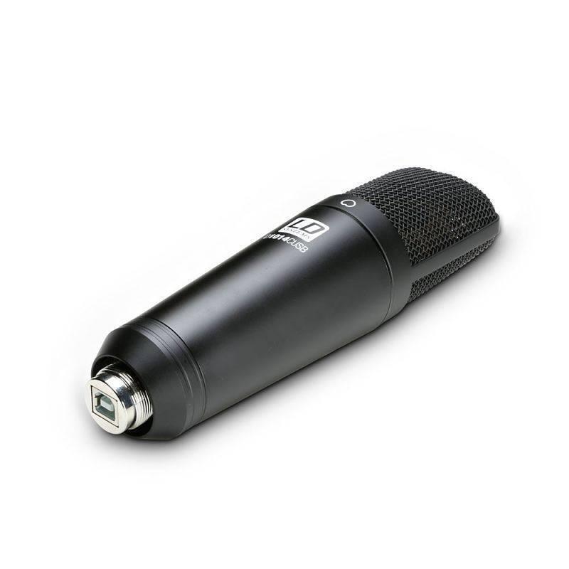D1014CUSB Micrófono de condensador Usb para estudio Ld Systems