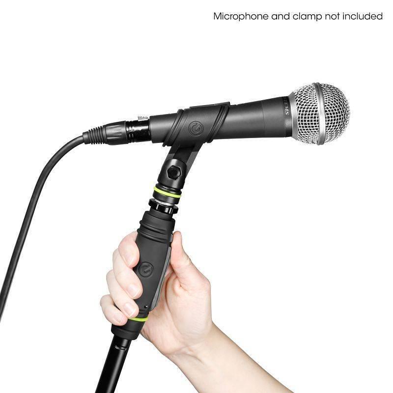 Atril de plato super reforzado para micrófono ajuste de altura con una sola mano Gravitiy