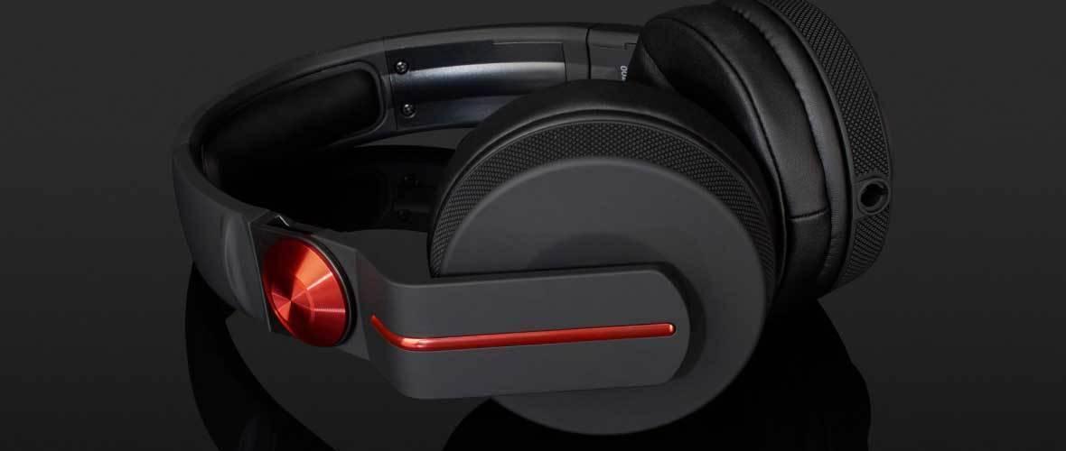Audifonos Profesionales PIONEER 700 Rojo