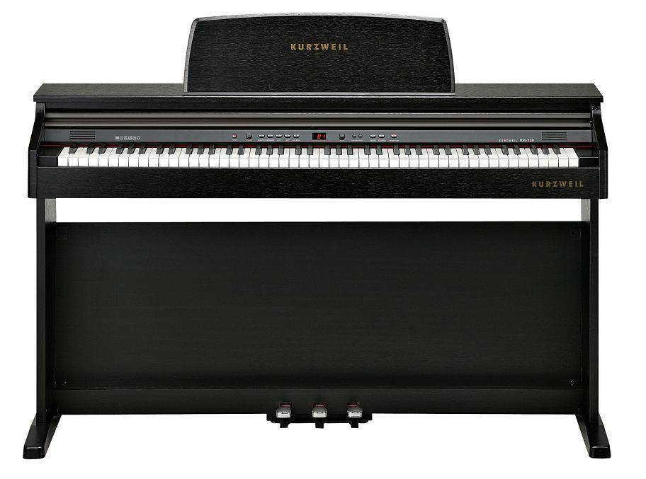 Piano con base Kurzweil KA130 color Rosewood
