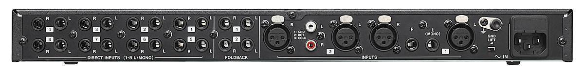 Tascam MH-8 Ultimate Headphone Amplifier with 8 Stereo 1/4 Headphone Outputs