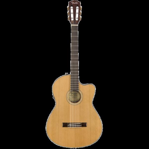 Guitarra Eacustica Fender CN-140SCE Clasica Natural Cedro