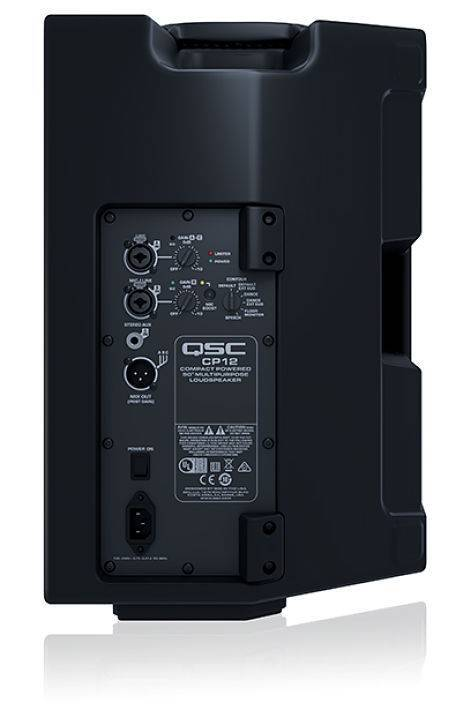 Bafle Amplificado QSC CP12 1000 watts 126dB