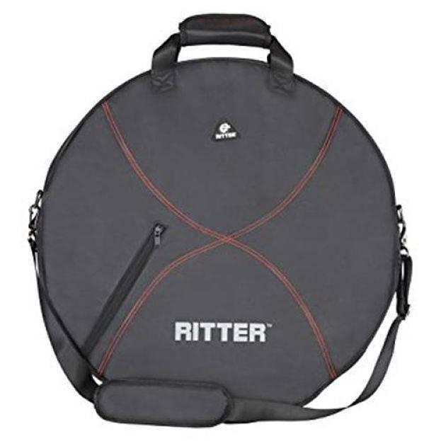 Funda Ritter Platillos Rdp2-C/ Negro-Rojo