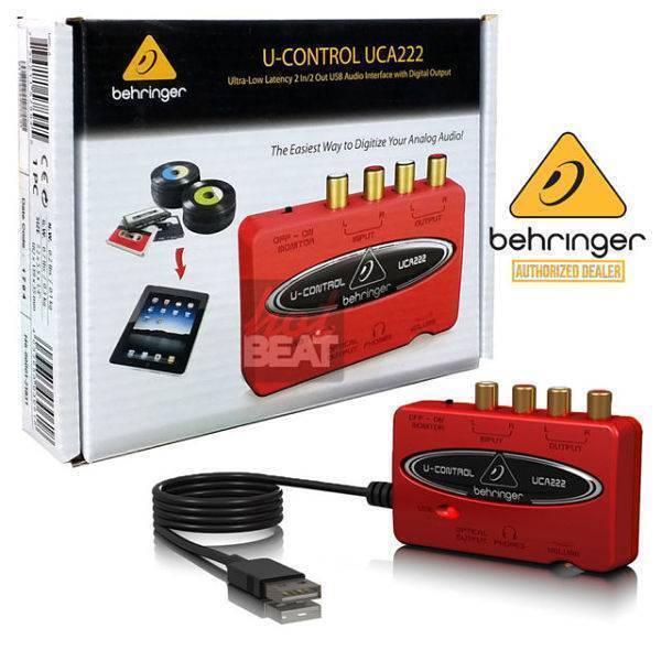 Interfaz Behringer UCA-222