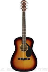 Guitarra Acustica Fender CC-60S sombreada