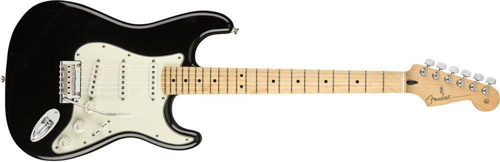Guitarra Fender Player Stratocaster negra