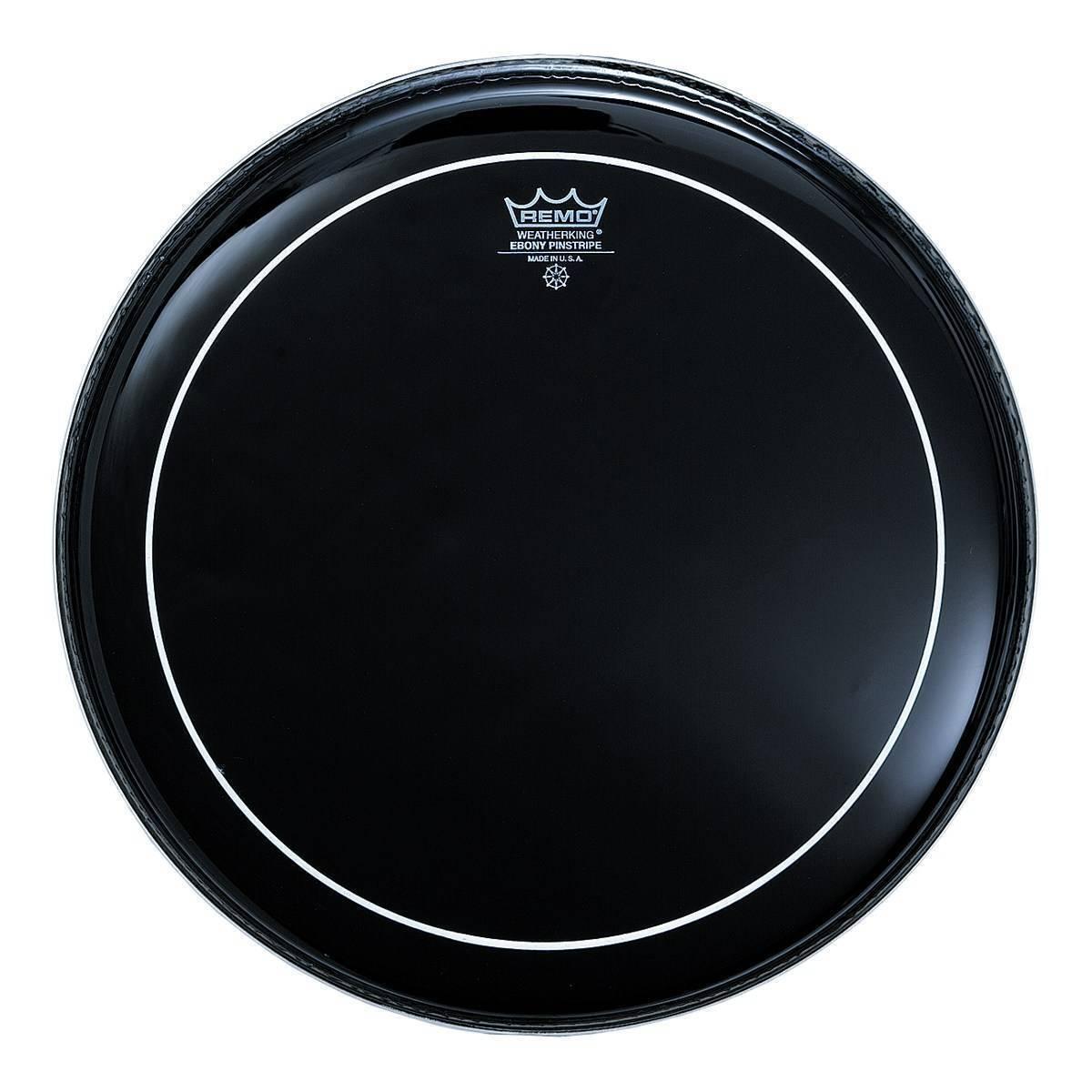"""Parche Remo Ebony Pinstripe 16"""" Hidraulico negro"""