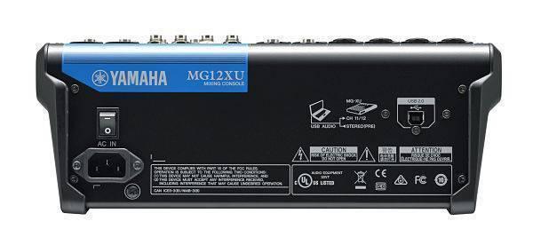 Mezcladora MG12XU Yamaha con efectos y USB
