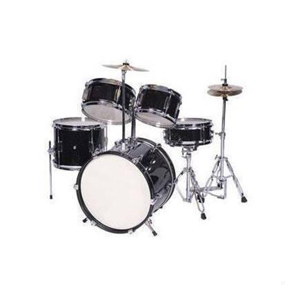 Bateria Junior Princess Drum Set Black metalic