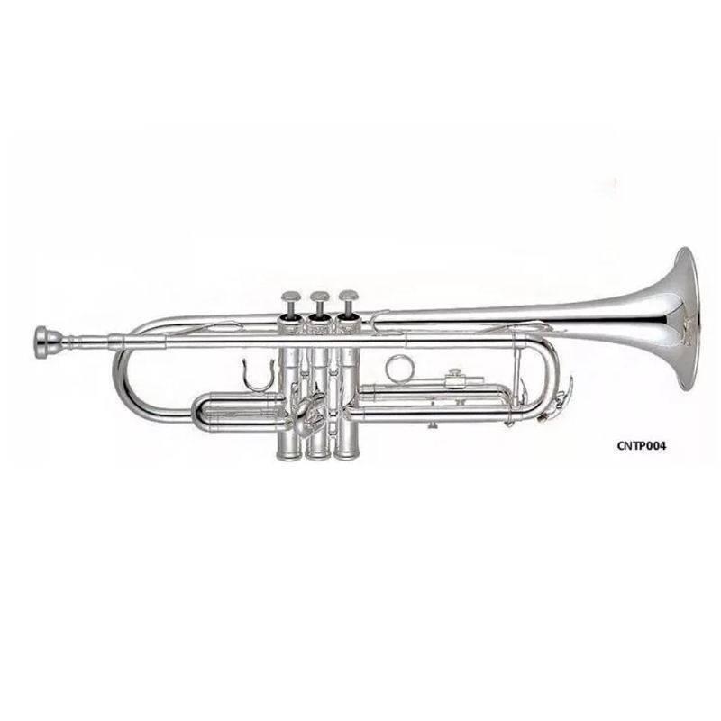 Trompeta Doble Llave Niquelada Ctr-300N Century