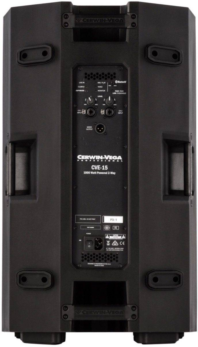 Bafle amplificado Cerwin Vega CVE-15