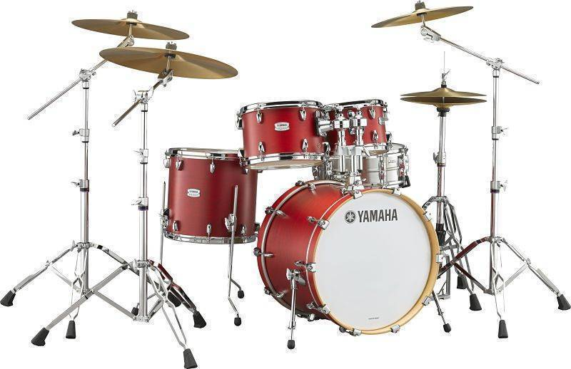 Bateria Yamaha Tour Custom color Rojo Candy Apple