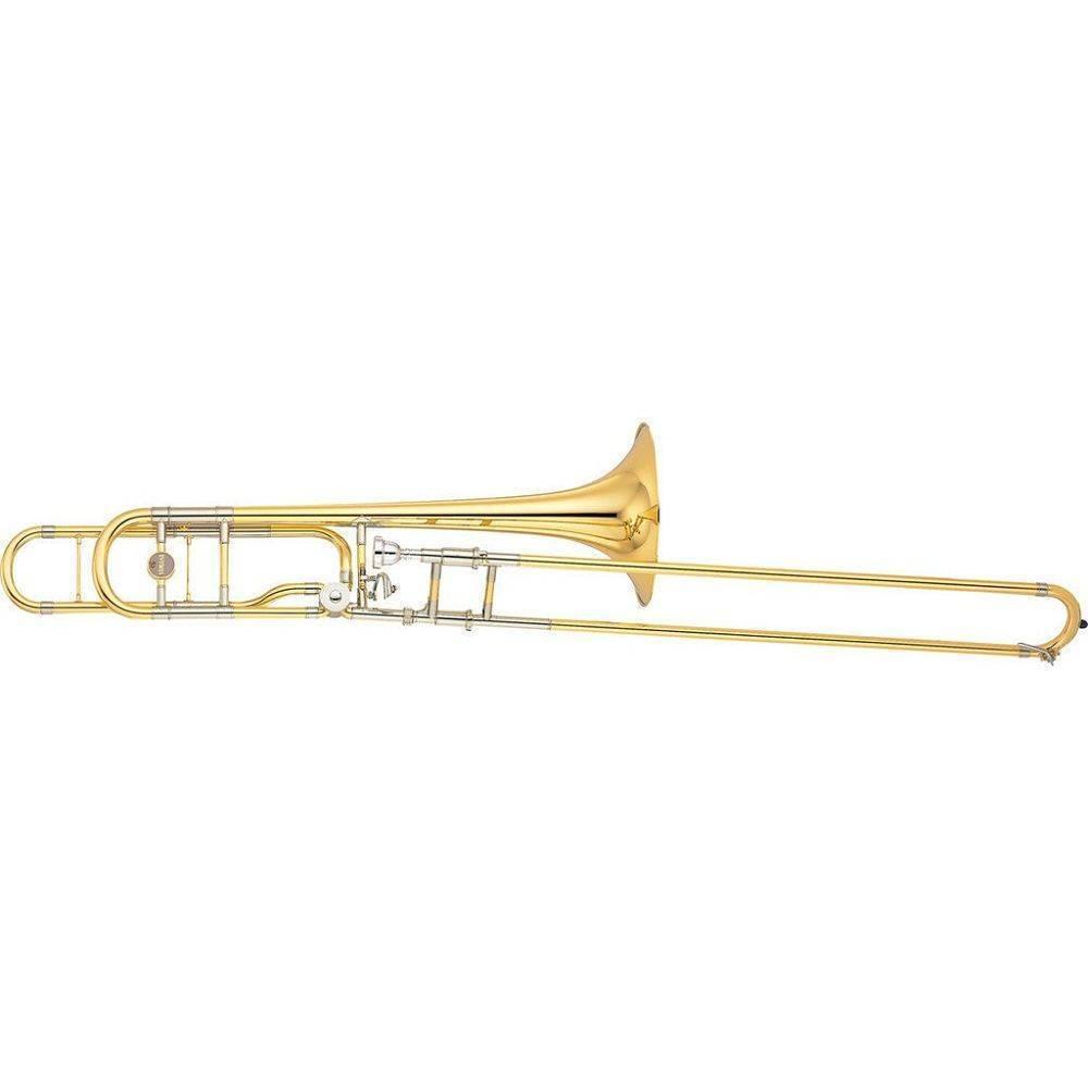 YSL882O Trombon Yamaha Tenor Bajo Xeno En Bb/F, L