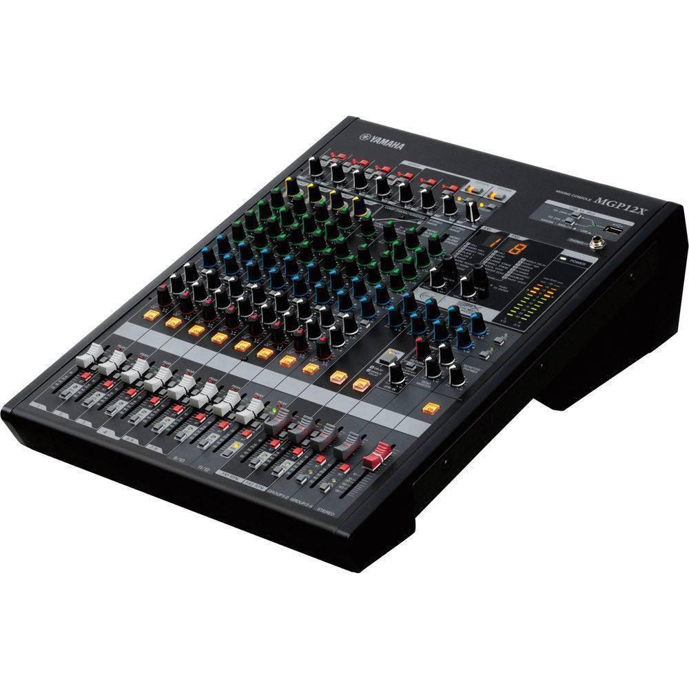 Mezcladora MGP12X Yamaha de 12 canales (conexión iPad o iPhone)