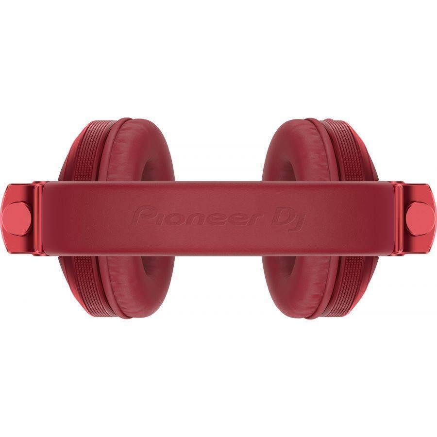 Audífonos Pioneer DJ Stereo Bluetooth Rojo