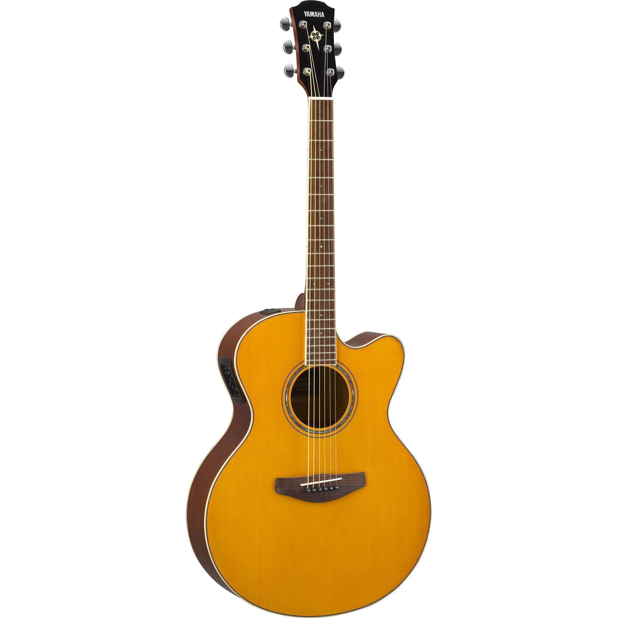 Guitarra Electroacustica Yamaha CPX600 Vintage