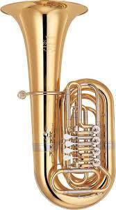 Tuba Yamaha Ybb-841g De 4 Valvulas (Si Doble Bemol)