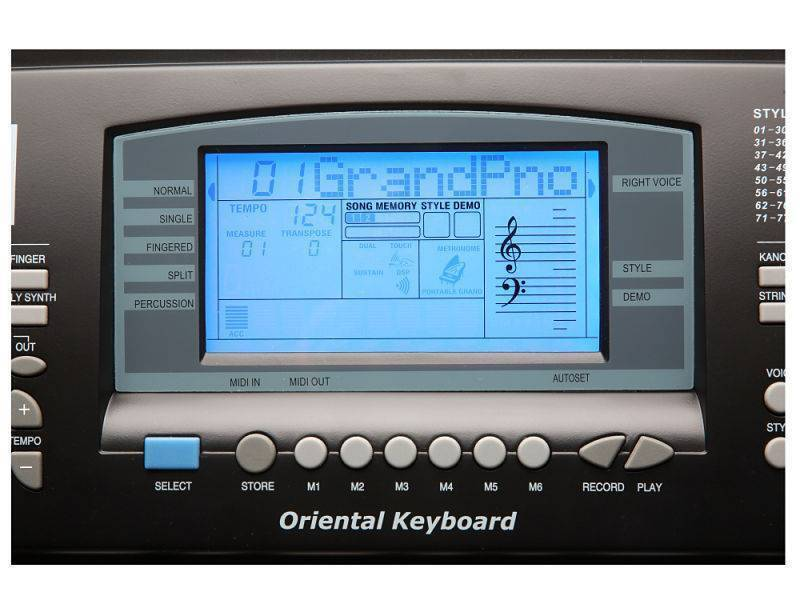 Teclado Portatil Kurzweil KP120A