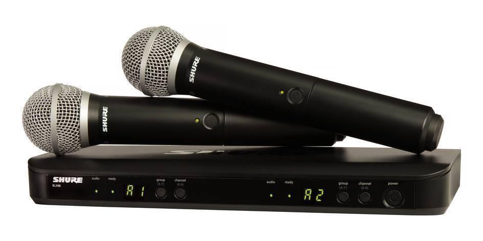 Microfono Inalambrico Shure BLX288/PG58